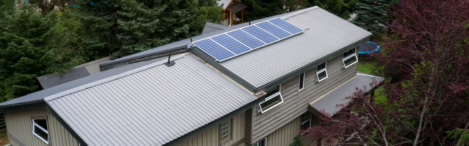 Easy St. Solar panels
